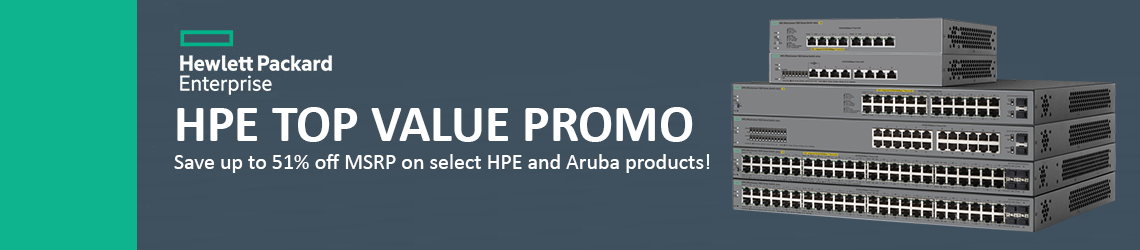 HPE Networking Top Value Promo